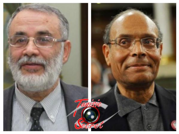 Abou Yaareb Marzouki et Moncef Marzouki, les deux mercenaires des Frères musulmans locaux et vendus au Qatar.