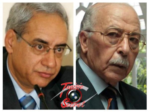 A gauche, Taoufik Baccar, l'ex Gouverneur de la Banque centrale qui a contribué à l'essor économique de la Tunisie; à droite, Chedly Ayari, l'actuel Gouverneur de la BCT qui a précipité la faillite économique du pays.