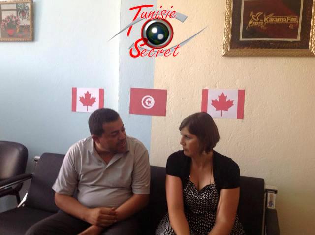 Entrevue hautement stratégique entre le directeur de radio Karama et l'Ambassadeur du Canada en Tunisie.