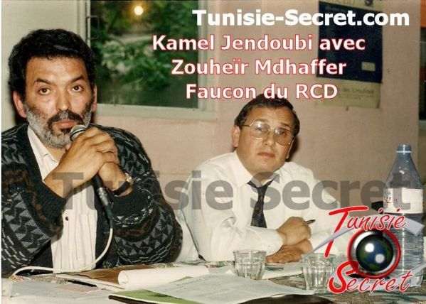 Février 1992, Kamel Jendoubi en pleine action militante au siège du RCD à Paris (Botzaris), qui a été pillé en 2011 par les islamistes et les gauchistes, avec l'aide de certains Rcédistes.