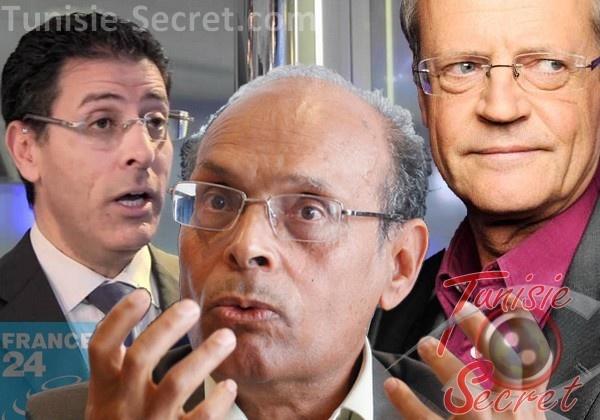 Moncef Marzouki humilie Pascal Boniface et se fait humilier par France 24