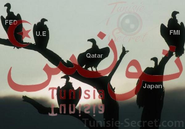 Prêts accordés à la Tunisie : FMI, Europe, Qatar, Japon, le ballet des charognards