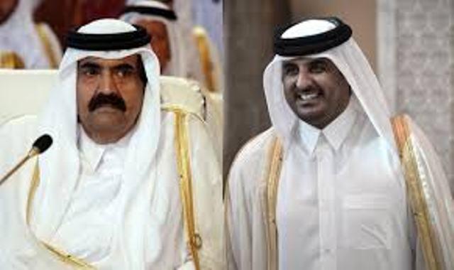 Le libérateur de la Tunisie, Hamad et son fils Tamim, démocratiquement élu par les Américains pour diriger le Qatar...et servir l'islamisme.