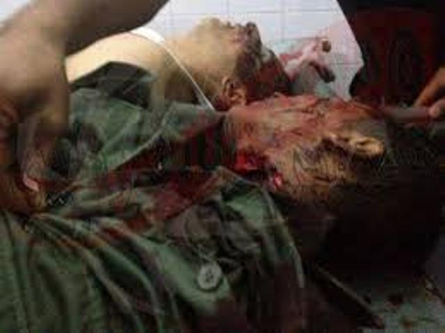 Les vrais martyrs de la Tunisie.