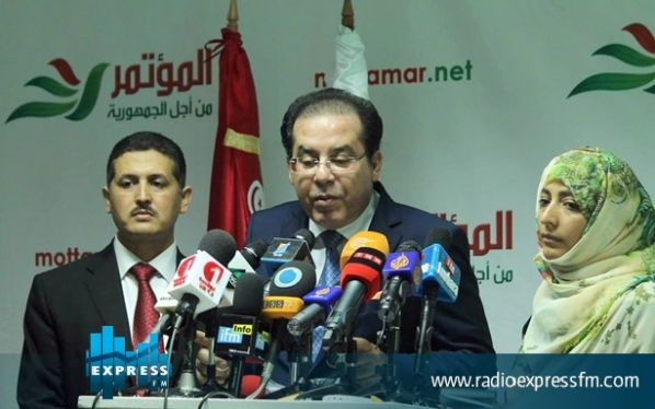 De gauche à droite, Imed Daïmi, Ayman Nour, Tawakkol Karman, trois facettes de la même fausse monnaie américano-qatarie.