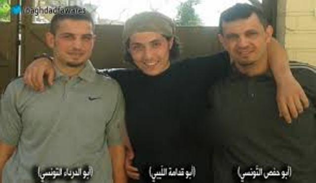 Deux tunisiens et un libyens, des criminels qui combattent dans les rangs de la dernière ONG qatarie, l'EIIL