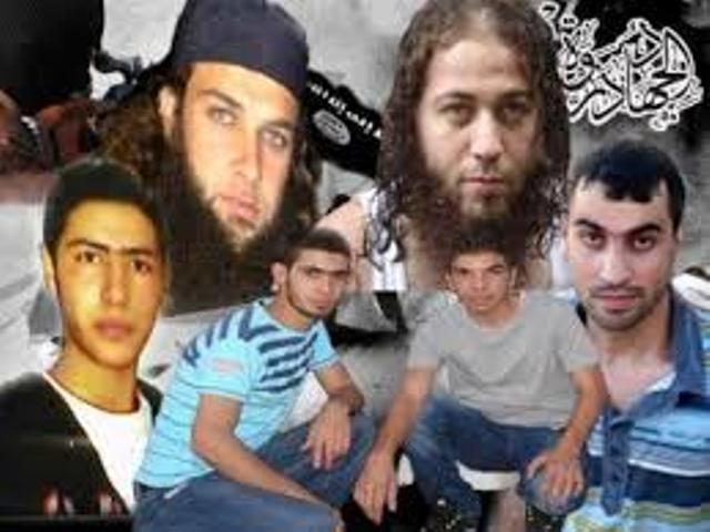 Un panel de djihadistes candidats aux attentats-suicides...par tous les moyens !
