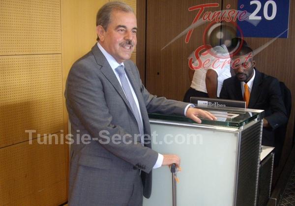 Mondher Zenaïdi, ce matin dimanche 14 septembre 2014, à l'aéroport d'Orly Sud. Après trois ans d'exil, le retour à la Patrie.