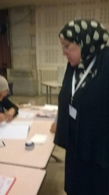 Chahrazade Ben Mbarek, l'épouse de l'islamiste recyclé dans le CPR, Khaled Ben Mbarek.