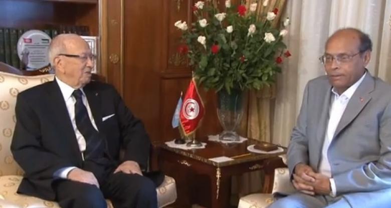 Béji Caïd Essebsi, prédestiné à la présidence de la République par son charisme, son autorité et son passé, et Moncef Marzouki prédestiné à la poubelle de l'Histoire d'où il n'aurait jamais dû surgir.