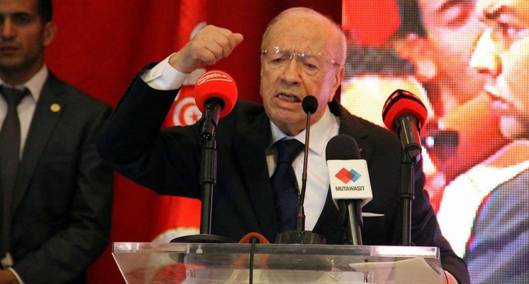 """Béji Caïd Essebsi, l'architecte du """"modèle tunisien"""" par lequel la Tunisie va retrouver sa personnalité et sa dignité."""