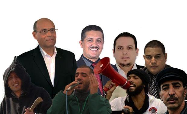 L'équipe électorale de Moncef Marzouki qui lui fera gagner une bonne place dans la poubelle de l'histoire: Imed Daïmi, qui est passé de l'islamisme au cepérisme, Tarek Kahlaoui, qui est passé du Matérisme au Marzoukisme, Yassine Ayari, qui est passé du cyber-collaborationnisme au salafisme, Recoba, qui est passé du rcédisme au djihadisme, et Imed Deghij, qui est passé du Trabelsisme au Tartourisme.