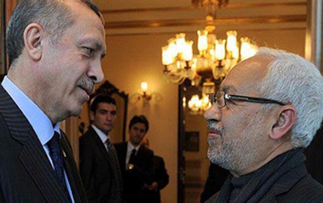 Les deux Frères Musulmans, Recep Tayyip Erdogan et Rached Ghannouchi, ennemis du sionisme, amis d'Israël!