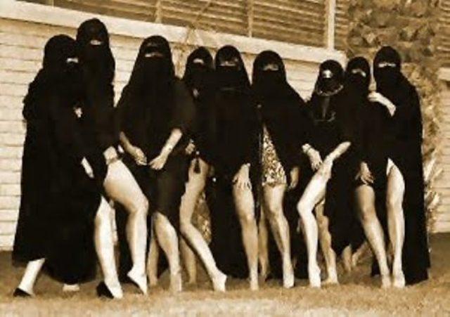 Le Nikab cache le visage mais pas la perversion sexuelle !