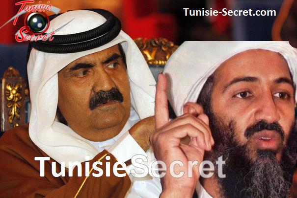 L'ex oligarque de l'émirat voyou, Hamad Ben Khalifa, et l'ex émir d'Al-Qaïda, Oussama Ben Laden.