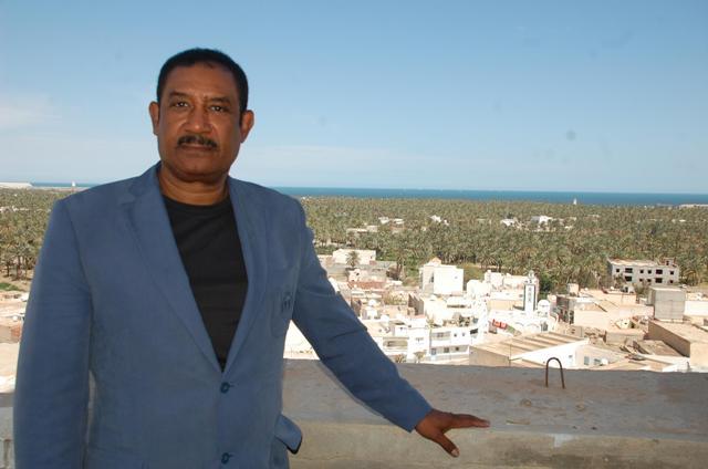 Mohamed Ayachi Ajroudi chez lui à Gabès