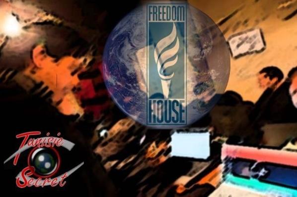 """Avec Open society de George Soros, Otpor et Telecomix, Freedom House, une vitrine des services américains a joué un rôle déterminant dans la """"révolution du jasmin"""", puis dans le """"printemps"""" dit arabe."""