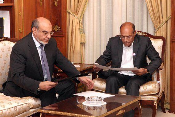 Hamma McCain avec le Tartour national et le mercenaire No1 du Qatar, Moncef Marzouki.