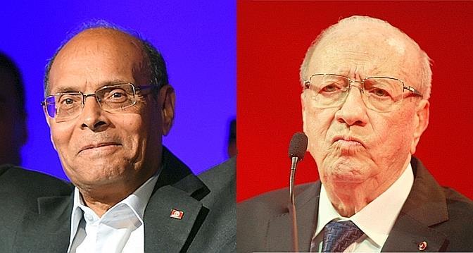Moncef Marzouki, le candidat du Qatar et des terroristes, face à Béji Caïd Essebsi, le candidat de la Tunisie et des modernistes.