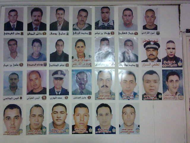 Quelques portraits des vrais martyrs de la conspiration anti-tunisienne. Ils ont été tués en 2011.