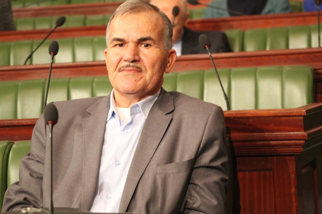 Moncef Ben Salem, siégeant à l'Assemblée (anti) Nationale Constituante, vendue au Qatar et aux Etats-Unis.