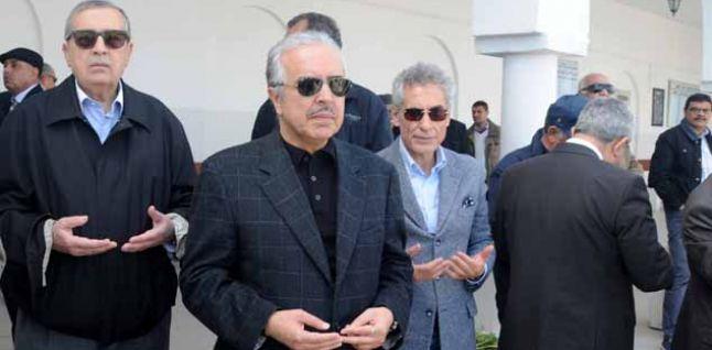 De gauche à droite, Kamel Hadj Sassi, Slaheddine Maâoui et Kamel Ben Ali.