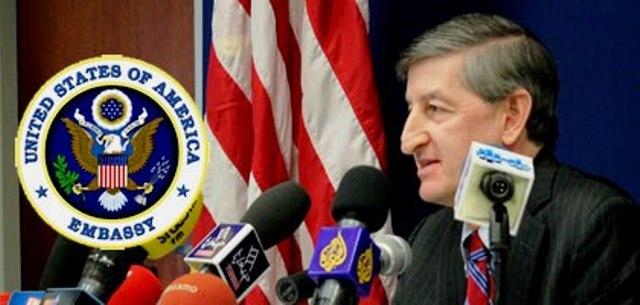 Jacob Walles, l'ambassadeur des Etats-Unis en Tunisie, le copain de Rached Ghanouchi qui a échappé à un attentat dans la ville du Kram.