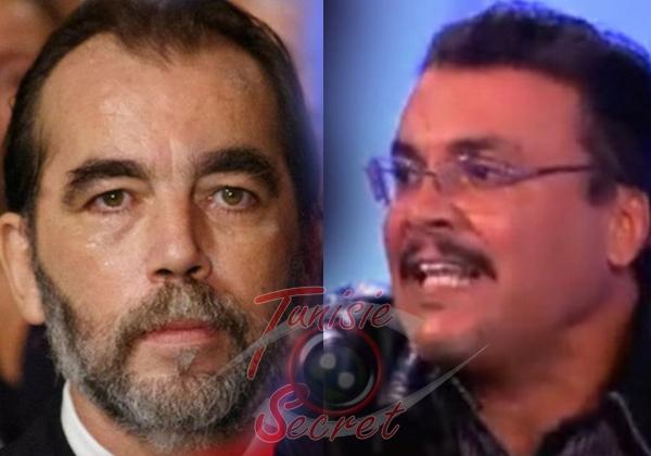 A gauche, Saïd Aïdi, ministre de la Santé. A droite, Aref Azizi, le médecin intégriste qui fait la pluie et le beau temps à l'hôpital de Sidi Bouzid.