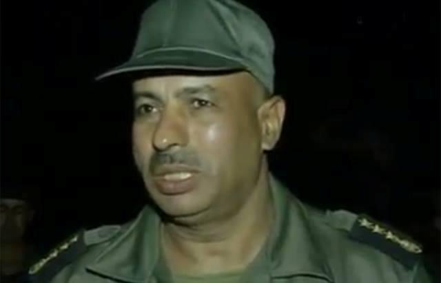 Le colonel Mourad Mahjoubi.