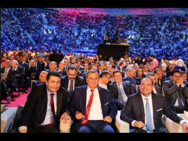 Naturellement présents, de gauche à droite, Iyadh Dahmani, Issam Chebbi, Mehdi Ben Gharbia.