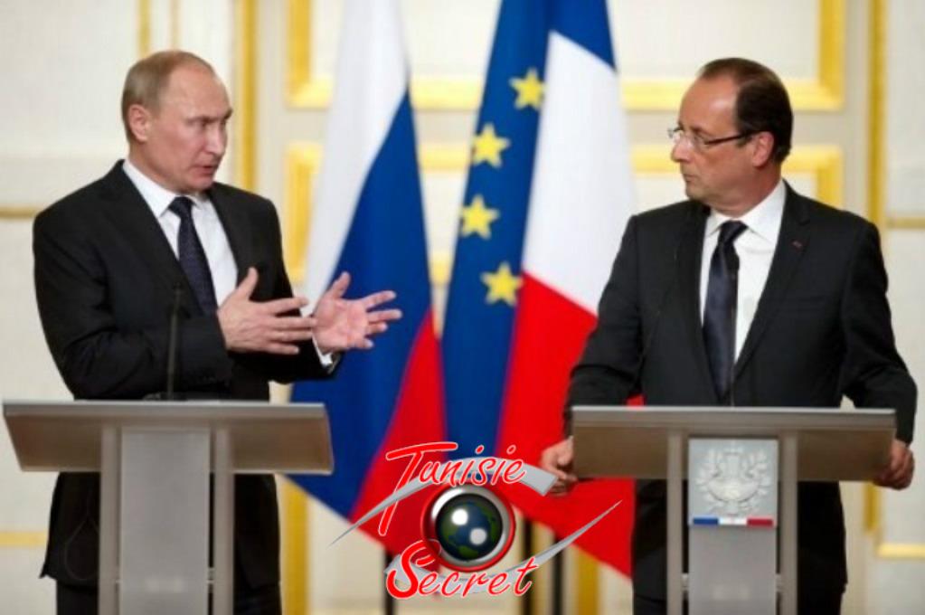 Le leçon de Vladimir Poutine à François Hollande.