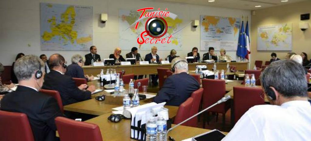 Ghannouchi et ses lieutenants dans les locaux de l'Assemblée nationale pour parler de la démocratie islamique, du modèle tunisien, de géopolitique, des droits de l'homme...et du business !