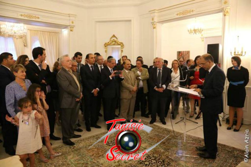 Son Excellence Mohamed-Ali Chihi, prononçant son discours d'ouverture de la cérémonie.