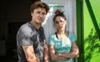 Syrine Chaalala et Mohamed Gastli.