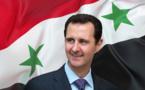 Le Président syrien Bachar Al-Assad, victorieux des barbares islamistes et de leurs complices occidentaux.