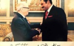 Mohamed Ayachi Ajroudi reçu par Béji Caïd Essebsi.