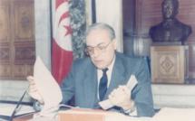Rachid Sfar, Premier ministre en 1986.