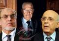 Hamadi Jebali, Hédi Baccouche, Mohamed Ghannouchi
